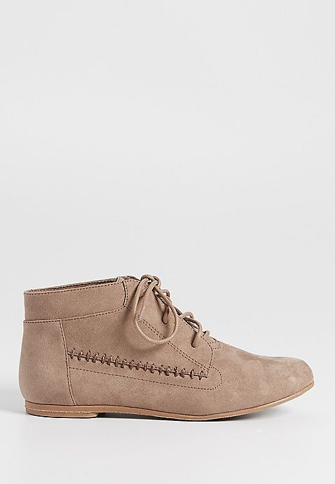 Pauline lace up faux suede shoe | maurices