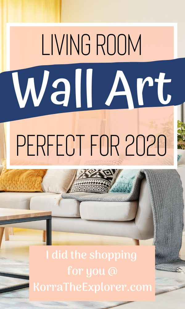 Living room wall art perfect for 2020! #wallart #wallartideas #wallartdecor #decorideas #decorationideas #livingroom #livingroomideas