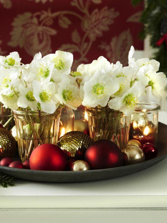 Diy Christmas Table Decoration Setting Ideas Styleheap Com In 2020 Christmas Centerpieces Diy Diy Christmas Table Christmas Table Centerpieces