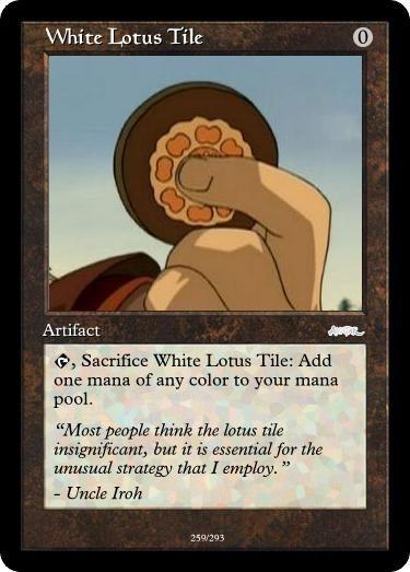 Atla Mtg Set White Lotus Tile By Darkmoldo On Deviantart