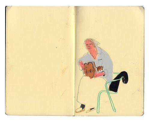 Sarah Dyer - Dibujo Ubicación
