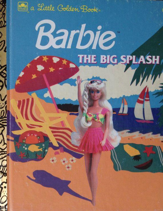 Little Golden Book Barbie The Big Splash 1992