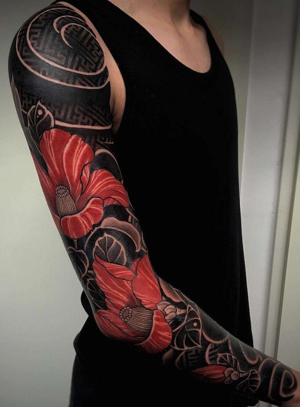 Blackout Tattoo Ideas C Tattoo Artist G A K K I N Manga Japonesa Tatuaje Tatuajes Japoneses Tatuajes Japoneses Brazo