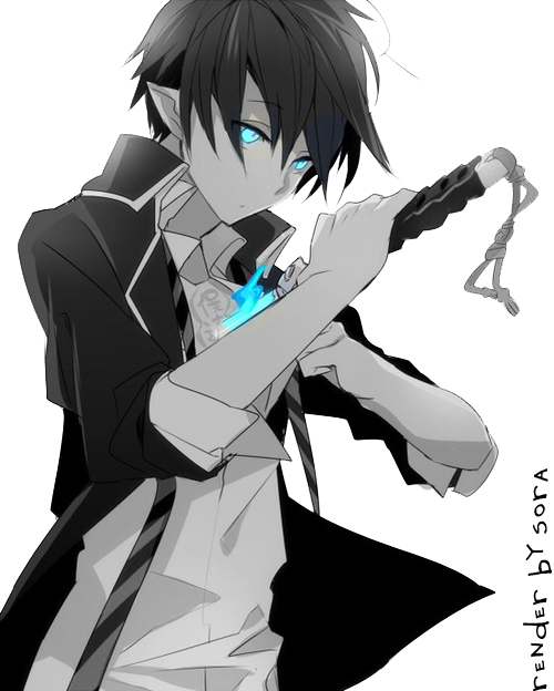 PNG anime boy by on deviantART