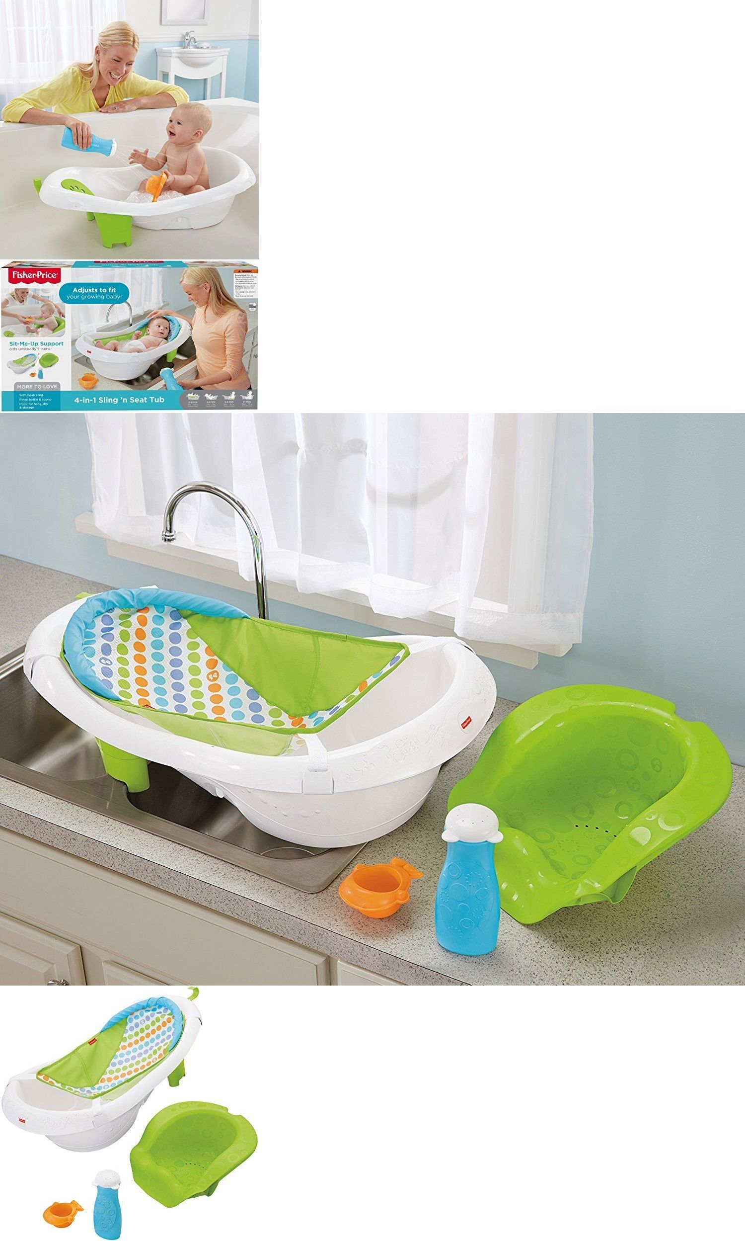 Bath Tub Seats and Rings 162024: Fisher Price 4-In-1 Sling N Seat ...