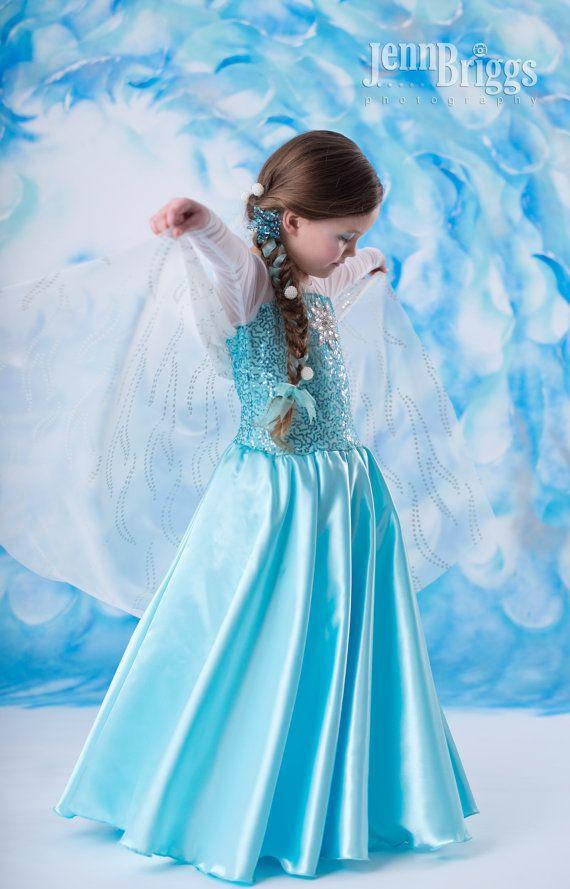 Frozen costume Elsa | Frozen Kids Costumes | Pinterest