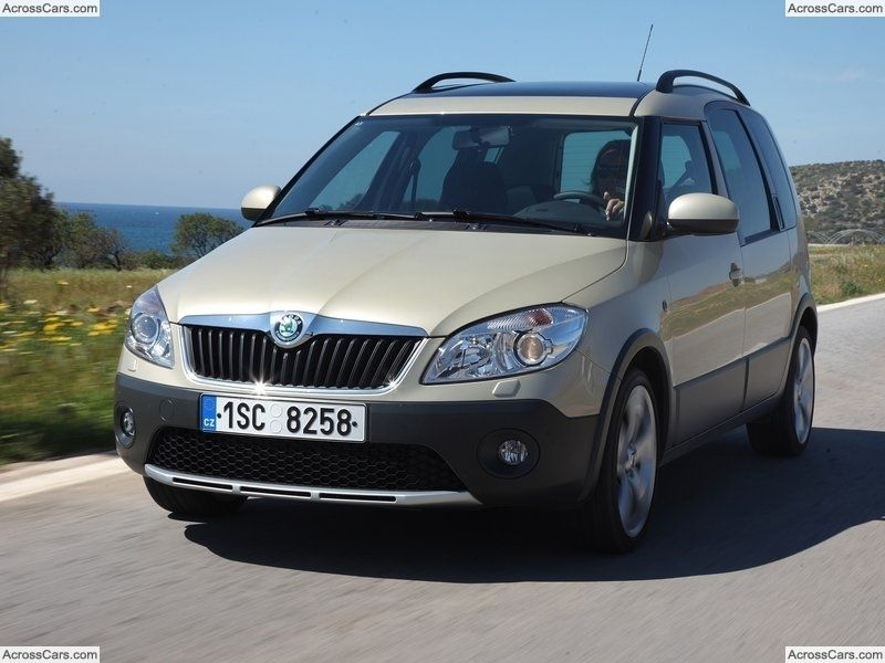 Skoda Roomster Scout 2011 Vehicles Skoda Fabia Automobile