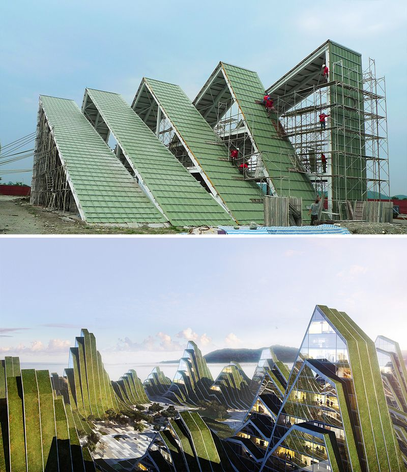 Roof Design Ideas: Hualien Residences, Taiwan