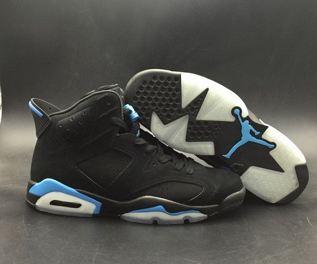 2c57368512f200 Air Jordan 6 UNC Black University Blue 384664-006 For Sale