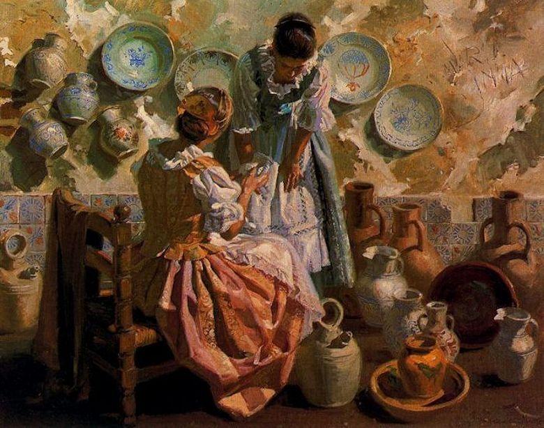 Juan González Alacreu: Costumbrismo Impresionista ...