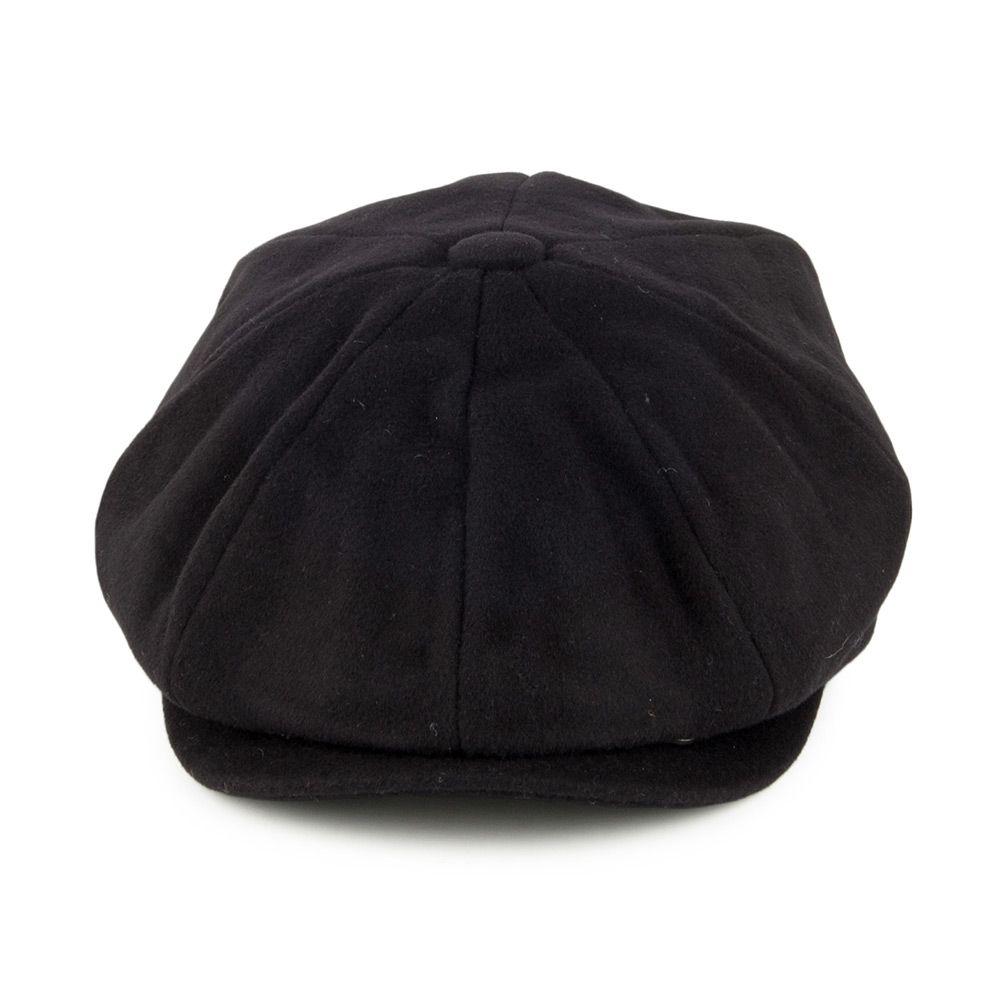 d3248d084f0e Jaxon & James Pure Wool Harlem Newsboy Cap - Black | huts | Hats ...