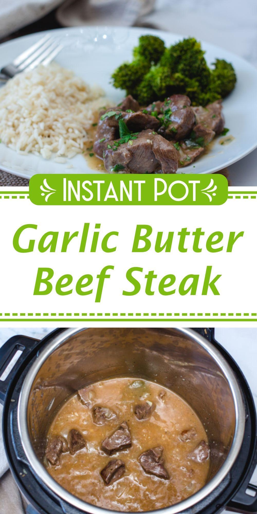 Instant Pot Beef Steak Recipe Sirloin Steak Recipes Top Sirloin Steak Recipe Beef Recipes
