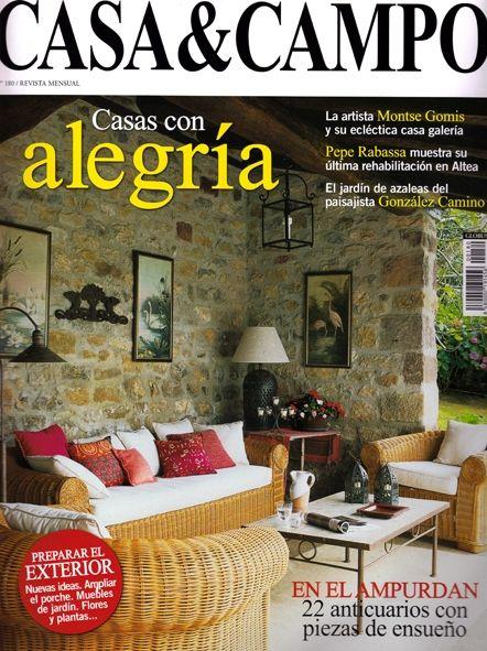 Dossier Y Publicaciones En Prensa Revista Casa Y Campo Casas De Campo Casas
