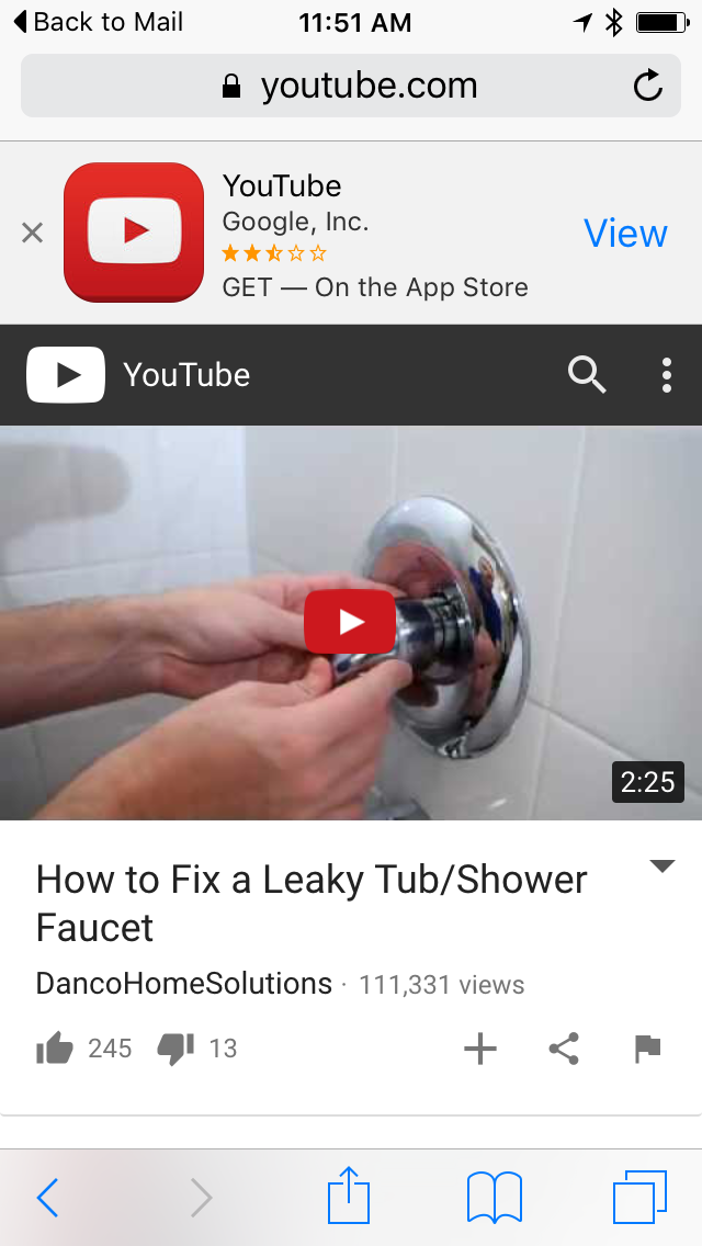 How To Fix A Leaky Tub Faucet