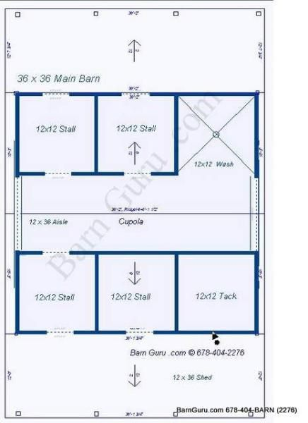 4 Stall Horse Barn Plan Horse Barn Plans Horse Barn Barn Stables