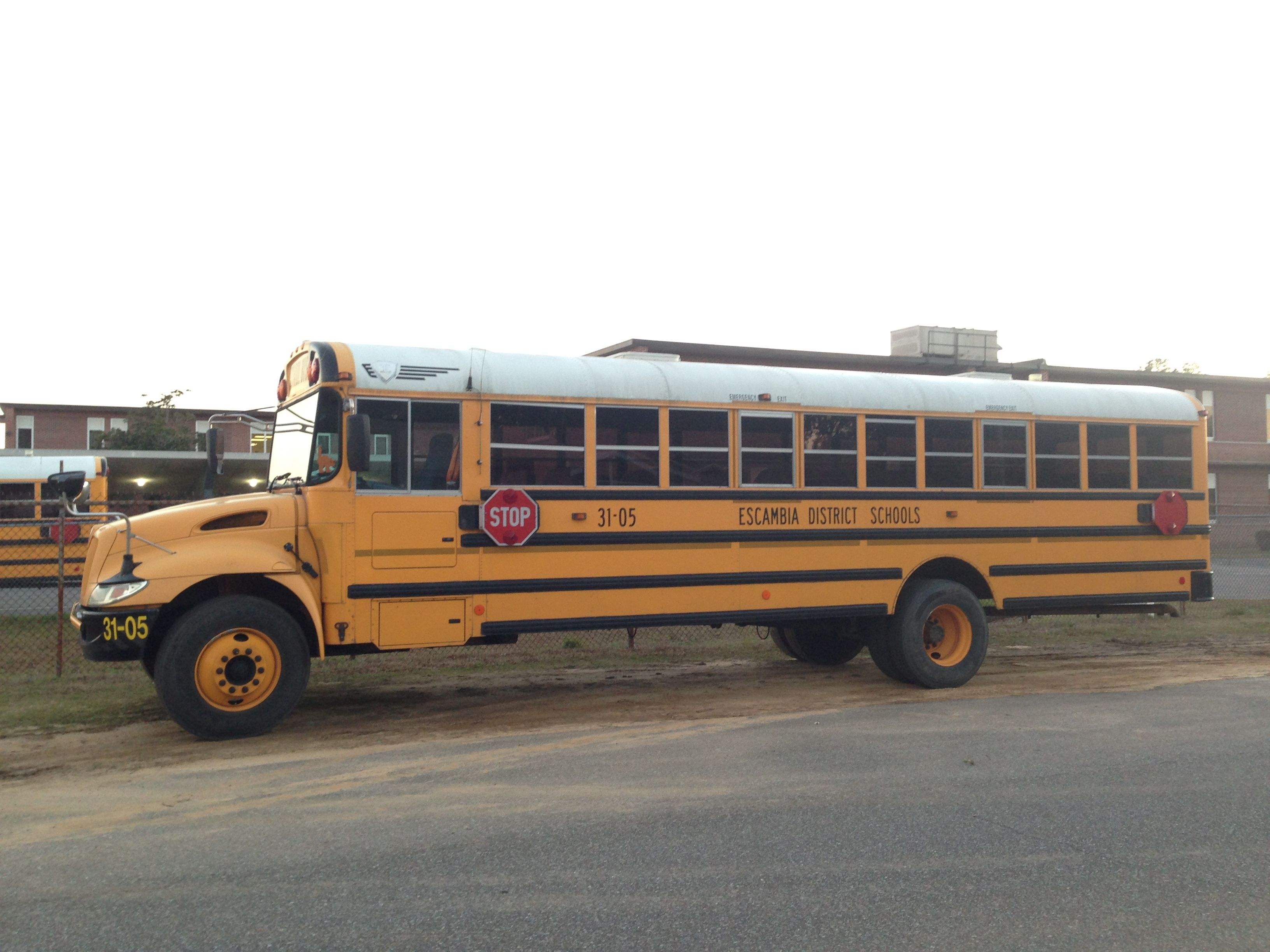 18 Transportation Escambia County School Bus Located Off Of 65th Ave School Bus Escambia County Bus