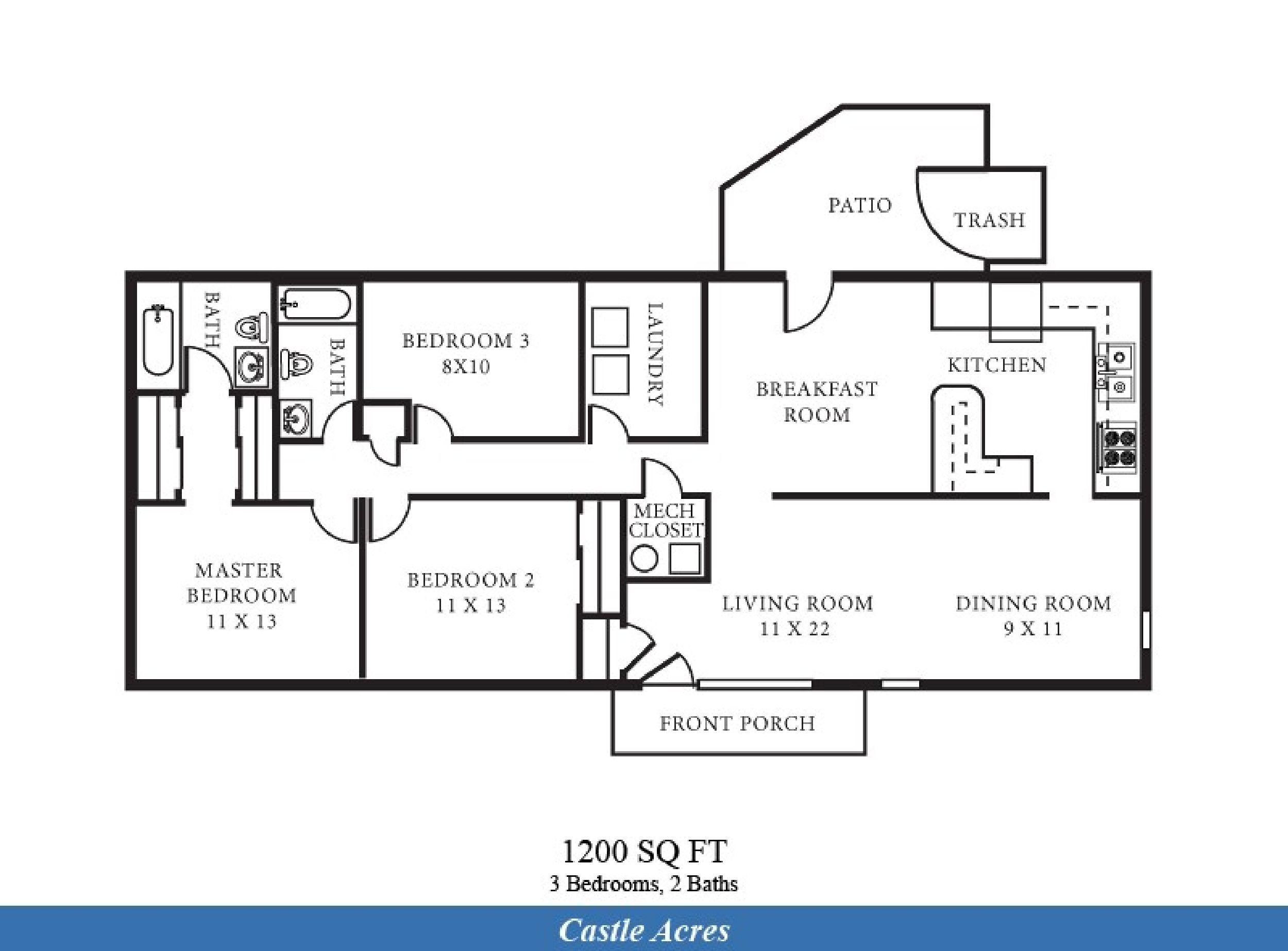 Nashville 2 Bedroom Suites Las Vegas Suite Bellagio Penthouse Suite Floorplan 2 Bedrooms
