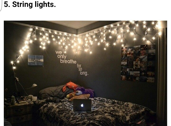 Cutest Idea Love The Words Too Maybe Just A Little Too Dark On The Walls Hipster Room Hipster Bedroom Girl Bedroom Designs
