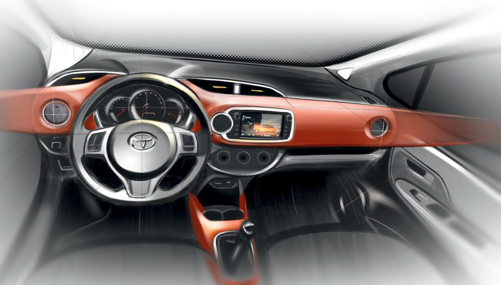 2014 Toyota Yaris Euro Spec Interior Design Pinterest Toyota