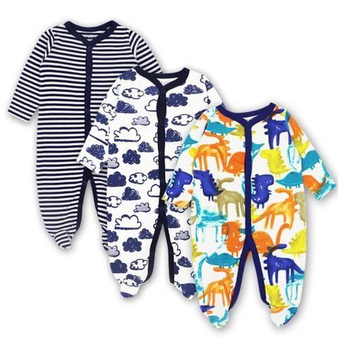 78da39b93 Baby Clothing Newborn jumpsuits Baby Boy Girl Romper Clothes Long ...