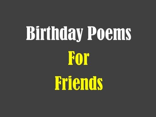 Birthday poems for a friend birthday poems friend birthday and poem birthday poems for a friend bookmarktalkfo Image collections