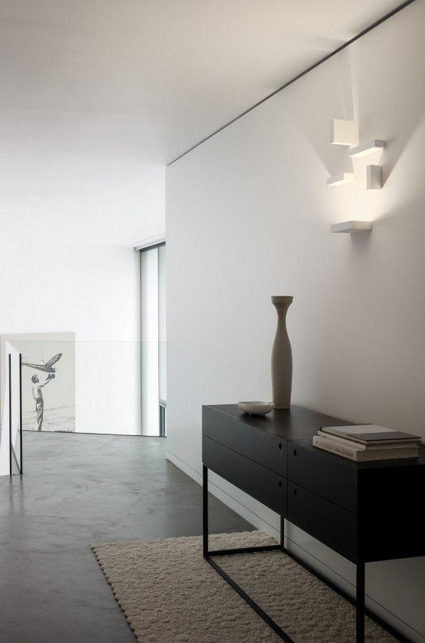 Wall Light Set By Vibia Design Josep Lluis Xucla Vibialight Office Furniture Design Wall Lamp Minimalism Interior