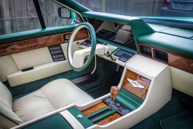 What Would Cthulhu Drive A Mint Green Series Ii Aston Martin Lagonda Aston Martin Lagonda Aston Martin Aston Martin Interior