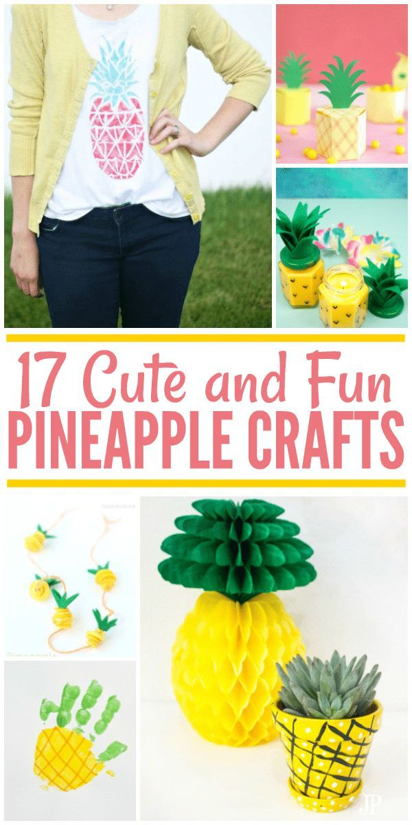 3 Home Decor Trends For Spring Brittany Stager: 17 Cute DIY Pineapple Crafts To Get Your Craft On This