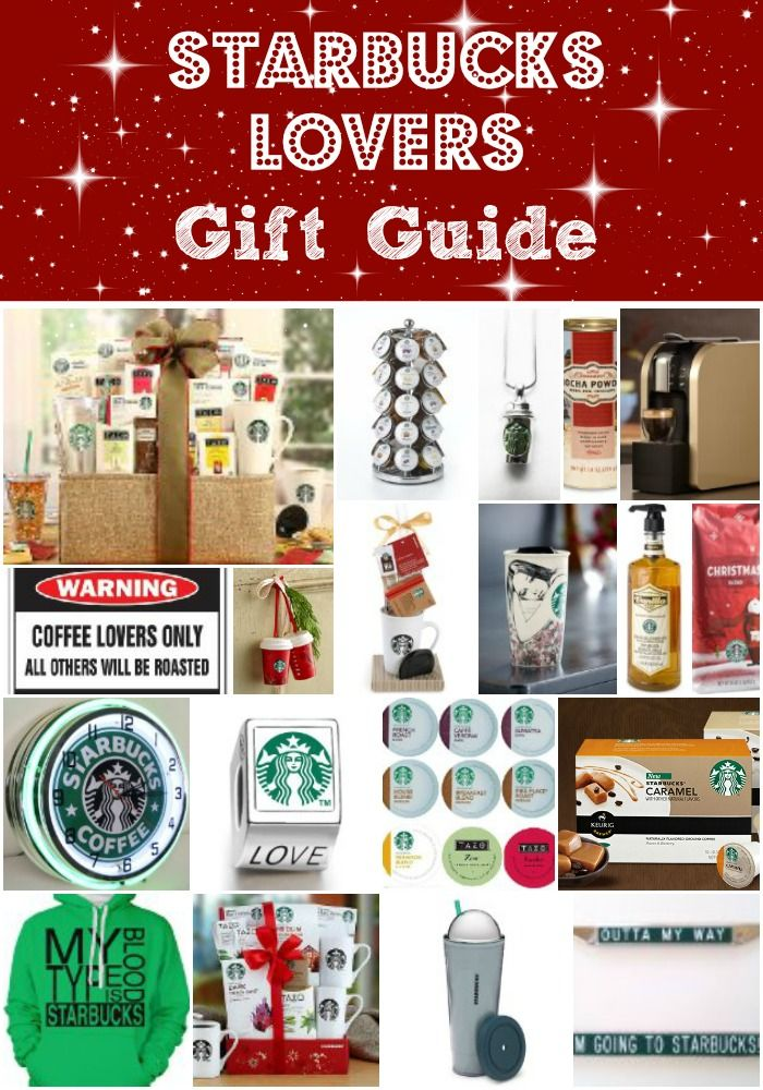 starbucks lovers gift guide i would love all of this