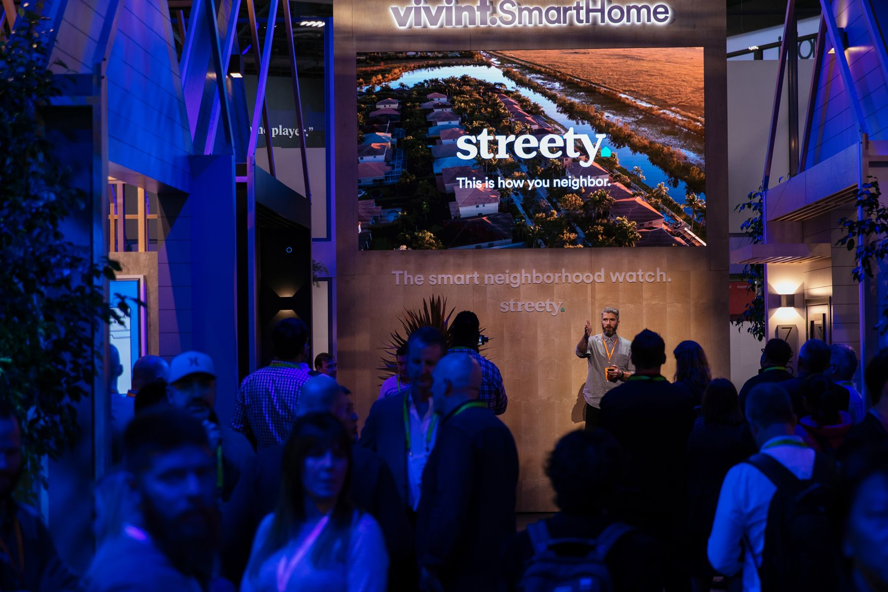 Explore The Vivint Smart Home Booth At Ces