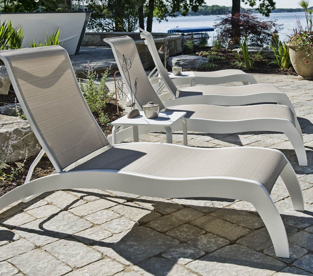 These Amazing Chaise Lounge Chairs Are Constructed From Marine Grade Polymer Material And Made In The Usa With A 15 Year Warranty Stackable