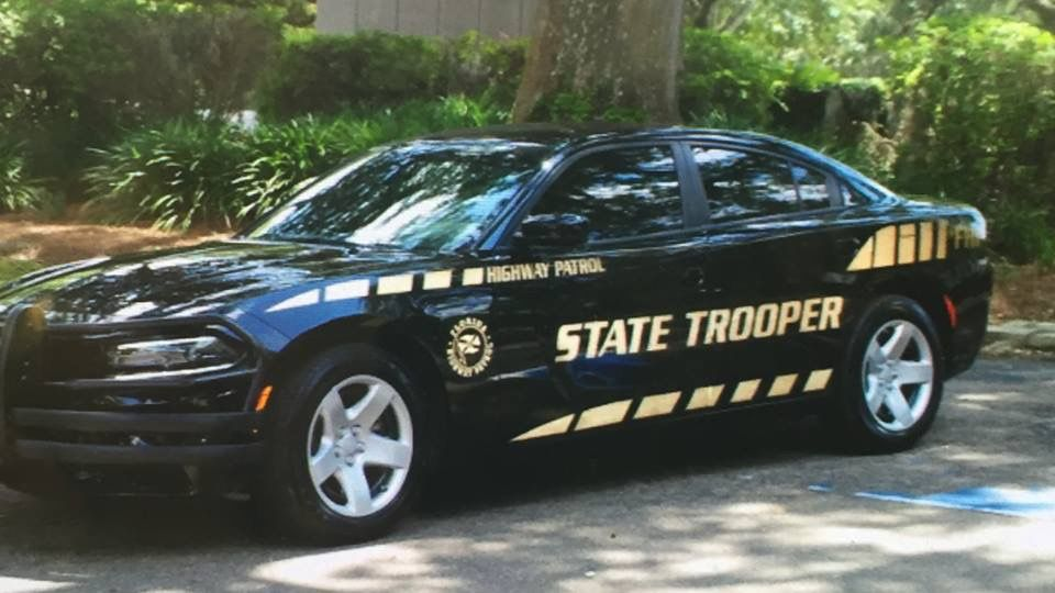 Florida Highway Patrol State Trooper New Decals Dodge Charger Slicktop Police Cars State Trooper Rescue Vehicles