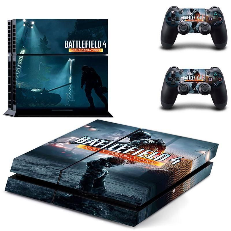 Battlefield 4 night operations ps4 skin decal for console and controllers