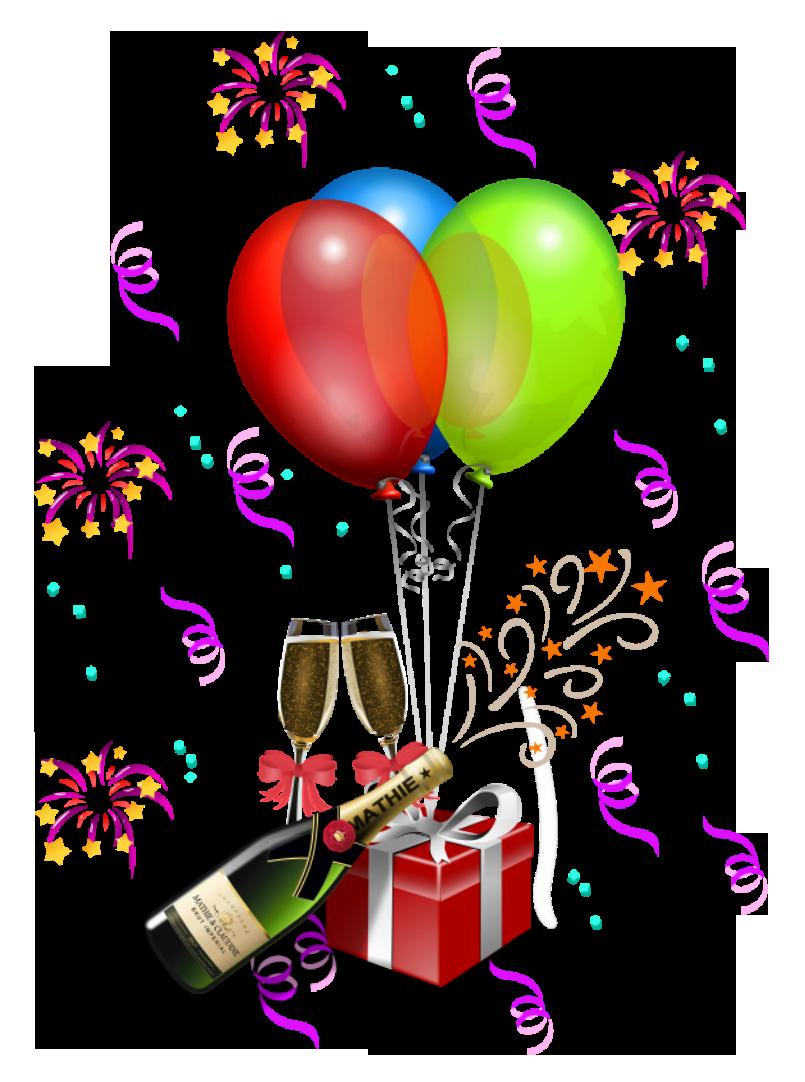 Party decoration transparent png clipart happy birthday pinterest decoration and happy - Clipart anniversaire gratuit telecharger ...
