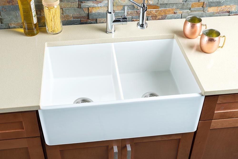 Hahn Fireclay Large Single Bowl Sinks Are Beautifully Handcrafted