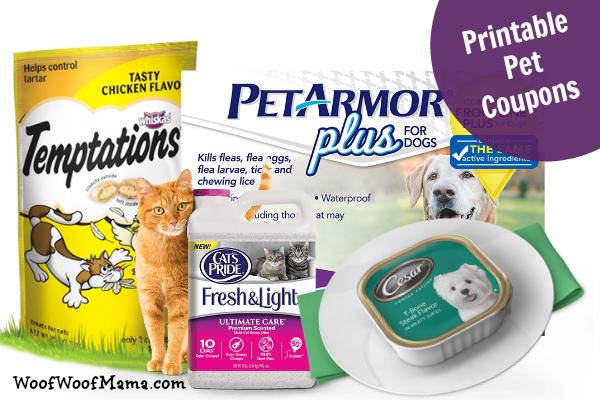 Printable Pet Coupons 5 Petarmor Plus 3 Cat S Pride Litter