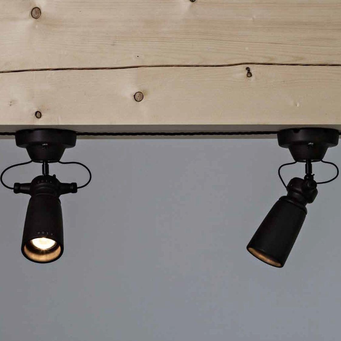 Vintage-Spot als einstellbarer Strahler | Lampen | Pinterest ...