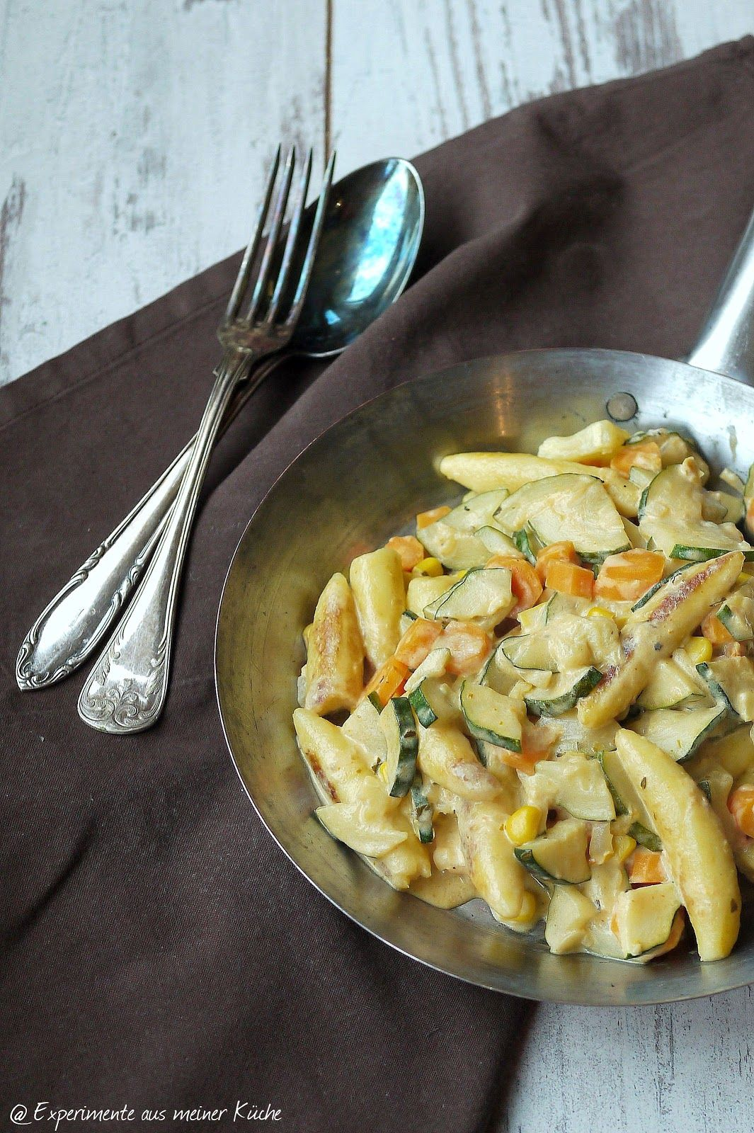 Photo of Vegetarian Schupfnudelpfanne