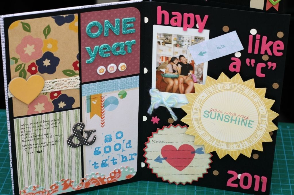 15 Seriously Scrapbook Examples For Boyfriend Mini Anniversary