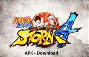 Naruto Shippuden Ultimate Ninja Storm 4 Mod Game Psp Android