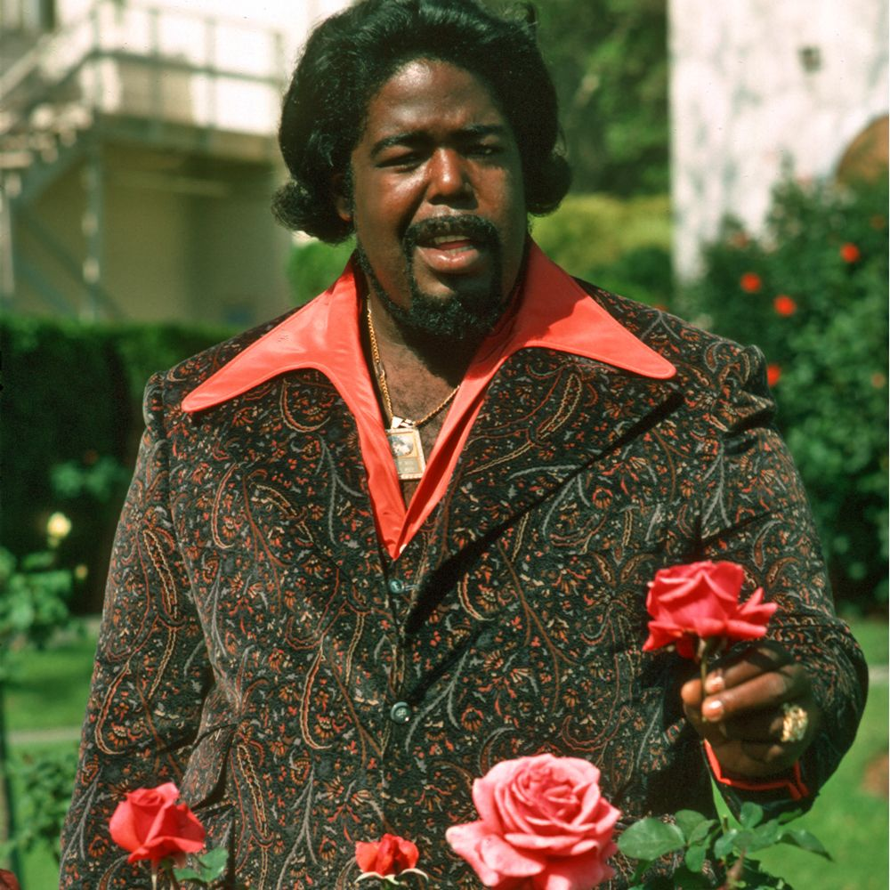 Barry White. Rose Garden. | BARRY WHITE in 2018 | Pinterest | Musicians