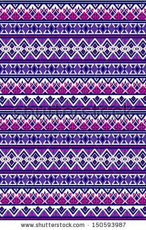 Aztec Knitting Pattern : aztec pattern by kenee, via ShutterStock Ethnic Pattern Pinterest Aztec...