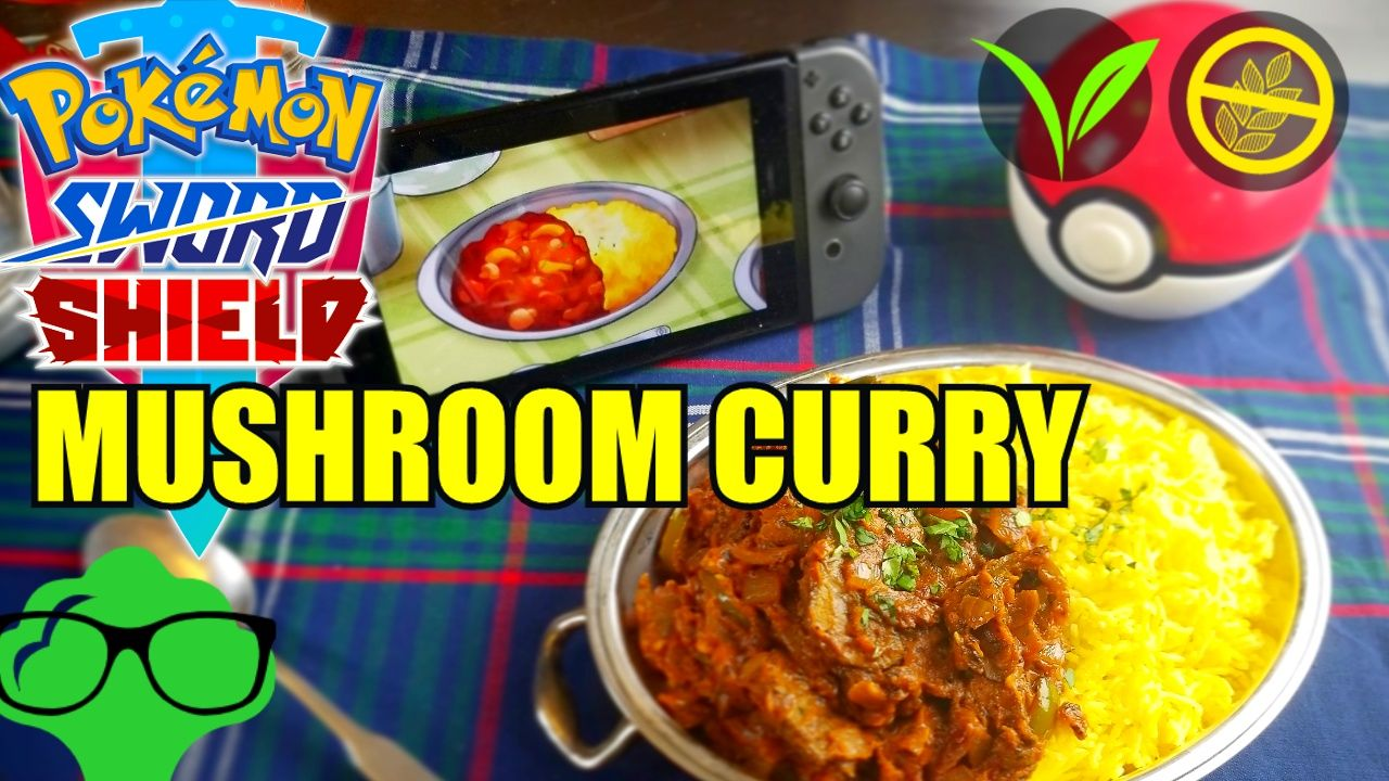 Spicy Mushroom Medley Curry Recipe Inspired By Pokemon Sword And Shield Curry Recipes Spicy Mushroom Spicy Recipes