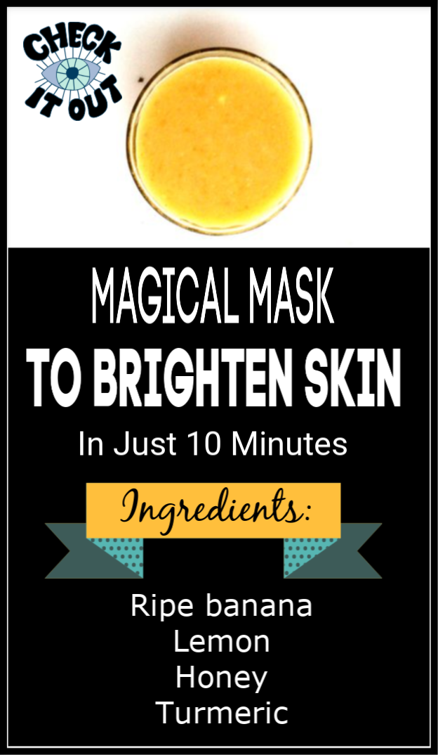 Try This Magical Mask To Brighten Skin In Just 10 Minutes