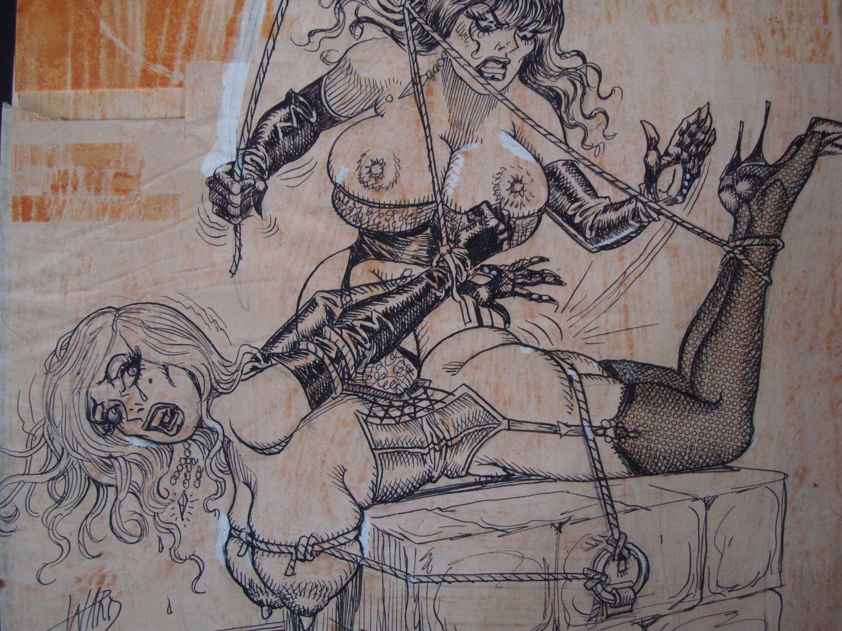 Bill ward art fetish