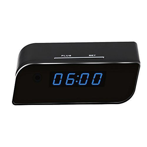 WiFi Hidden Camera Clock Upgraded Wireless Spy