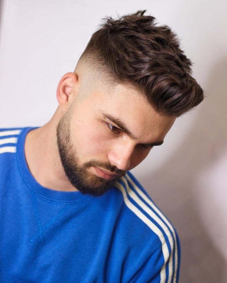 Mens Fade Haircuts 2019 Hair Mans In 2019 Faded Hair
