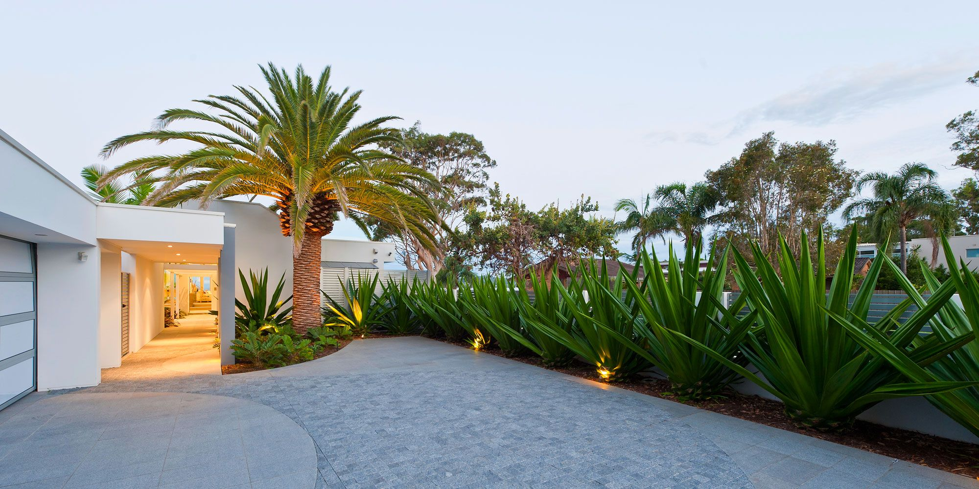Coastal Oasis by Urban Exotic | Coastal, Entrance design and ...