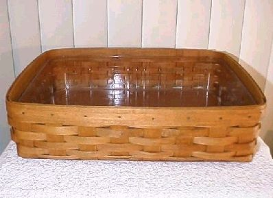 baskets longaberger letter tray basket protector set classic stain
