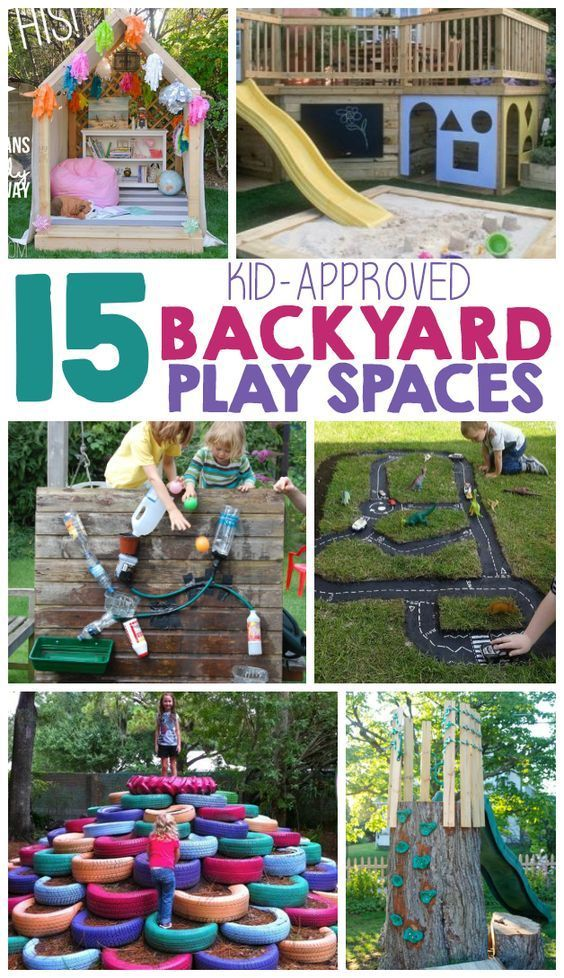 Photo of 15 Backyard Play Space Ideas For Kids – The Realistic Mama